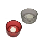 Portions glasskål