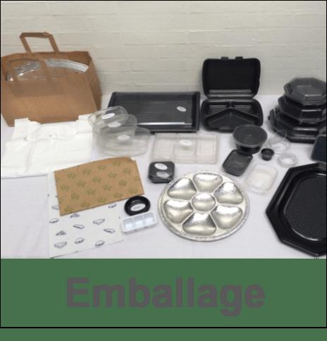 Take-away emballage