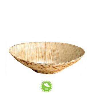lille rund bambusskål