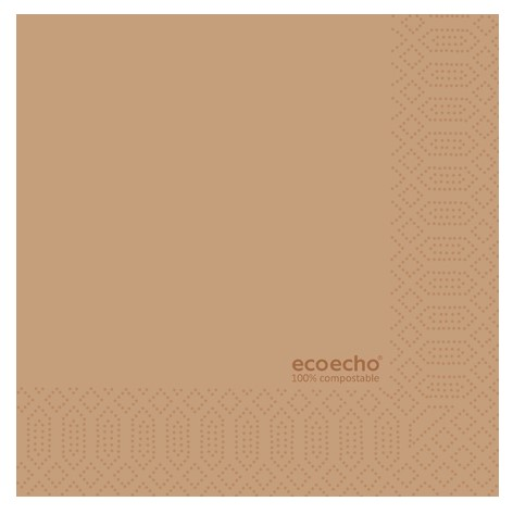 Ecoecho serviet, 33x33 cm 1/4 fold