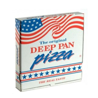 pizzaæske deep pan