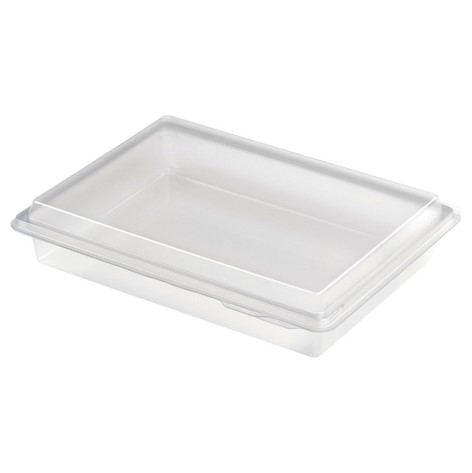 Plastbakke nibblebox 214x162x40mm 800ml