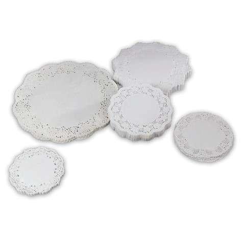 kagepapir udhugget rund