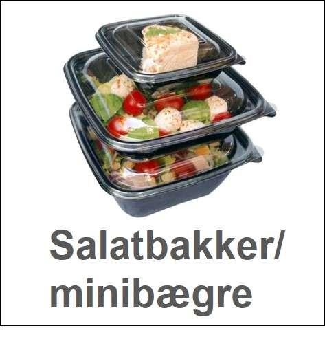 Salatbakker / minibægre