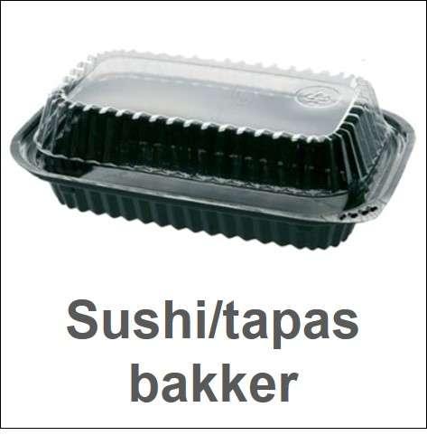 Sushi-/tapasbakker