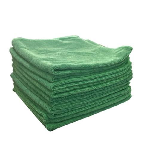Mikrofiberklud 40x40 grøn