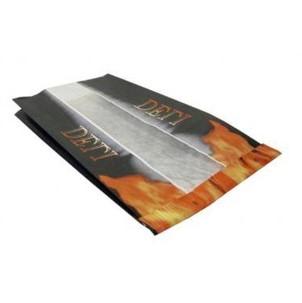 Grillpose med flammer